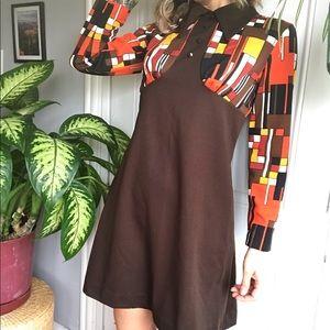 vintage 60s 70s dress